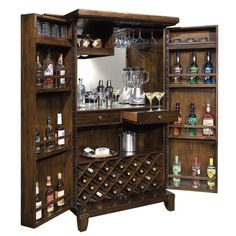 Cheap Howard Miller 695-104 Ty Pennington New York Loft Hide-A-Bar Wine Cabinet Average cutomer review  Donu0027t wait ... | casa | Pinterest | Howard Miller ...  sc 1 st  Pinterest & Cheap Howard Miller 695-104 Ty Pennington New York Loft Hide-A-Bar ...