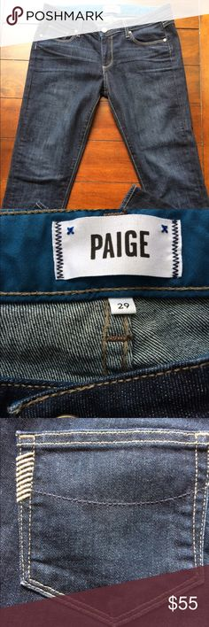 Paige Jeans Skyline Ankle Peg 29 Excellent condition and extremely flattering!  Size 29 PAIGE Denim jeans. PAIGE Pants Ankle & Cropped