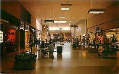 Elyria Ohio~Midway Shopping Mall Interior~1969