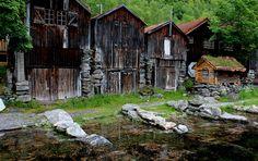 lillypotpie:  Sea Shacks Geiranger Norway #dailyshoot by Leshaines123 on Flickr.