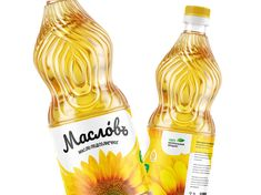 Rocket Candy - Maslov Branding - World Brand Design Society / Maslov is a sunflower oil brand from Russia, Kuban. This time we had to come up with a name, identity and packaging design for a sunflower oil brand. Pos Design, Brand Identity Design, Branding Design, Handwritten Logo, Brand Architecture, Mustard Oil, Food Packaging Design, Bottle Packaging, Article Design