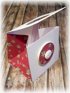 DasBastelnEntdeckt: Anleitung: Täschchen mit 3D-Verschluss * süss und machbar und und tief