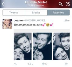 I love how Laurelle favourites Tronnor tweets