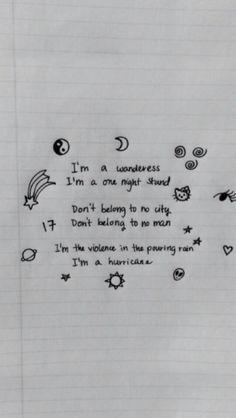 Music lyrics halsey dreams new ideas Lyric Art, Music Lyrics, Lyric Quotes, Tattoo Quotes, Tattoo Hals, Tattoo Neck, Drawing Quotes, Drawing Art, Drawing Ideas