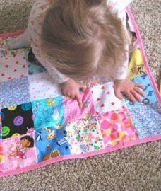 Mini I Spy Quilts