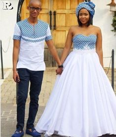 the best couples shweshwe dresses for We accept aggregate the ultimate account of couples analogous apparel account to advice booty your accord Wedding Dresses South Africa, African Wedding Attire, South African Weddings, African Attire, African Print Dresses, African Print Fashion, African Fashion Dresses, African Dress, African Wear