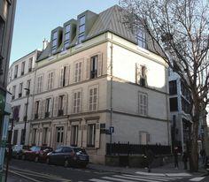 Surélévation immeuble Boulogne toit Mansart