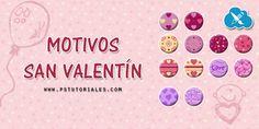14 motivos San Valentín - Aprende Photoshop