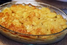 COMIDINHAS FÁCEIS: Batata aos queijos especial
