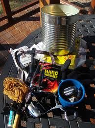 How to make a Coffee Can Survival kit, and a few other coffee can uses. Keep one of these in each car.