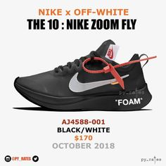 "6e2b678edec5  py rates on Instagram  ""Continuing on with the Black   White theme  nike     off    white have going on in Part 2 of their  The 10  collection"