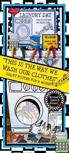 WASHING CLOTHES sing