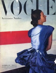 7a18623961 British Vogue November 1946 Accessories Number photography by Horst — vintage  magazine