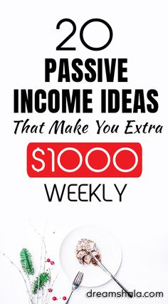 20 Legit Passive Income Ideas To Make Money While You Sleep. Check the list today and start making money using thise legit passive income ideas. Earn Money From Home, Earn Money Online, Way To Make Money, How To Make, Money Fast, How To Get Rich, Online Income, Online Jobs, Affiliate Marketing