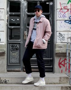 http://l4k0style.de Coach Jacket Urban Outfitters #streetstyle #fashionblogger