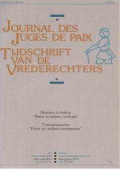 Tijdschrift van de vrederechters