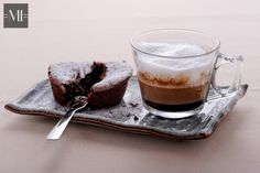 Indulge yourself with an espresso macchiato and a chocolate dessert this evening!