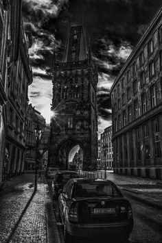 "500px / Photo ""Prague in B"" by Valerii Tkachenko follow http://pinterest.com/ahaishopping/"