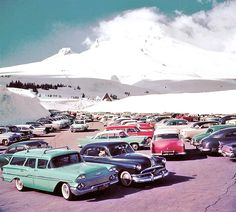 Four Fun Friday Fifties and Sixties Kodachrome Old Car Photos | The Old Motor