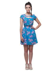 Vestido Flores e Corujas | Novidades | Antix Store