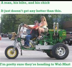 You can't get more redneck than this....