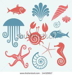 cute jellyfish drawing - Google Search