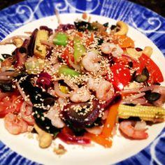 Quick & tasty #prawn #stirfry #healthy #nutrition #paleo #glutenfree