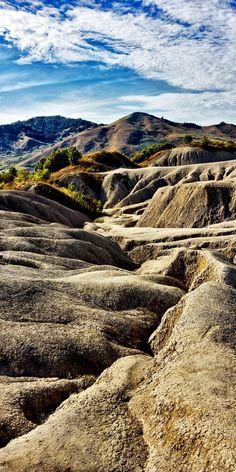 The Mud Volcanoes. Lunar view near Buzau, Romania | Discover Amazing Romania through 44 Spectacular Photos