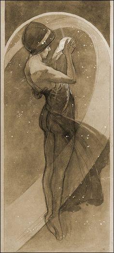 ART & ARTISTS: Alphonse Mucha - part 8 Mucha Art Nouveau, Arte Noveau, Alphonse Mucha Art, Belle Epoque, Art Deco, Photo D Art, Art Design, Arte Digital, Love Art