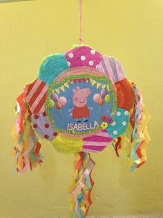 Peppa pig pinata, piñata Peppa pig, Party ideas, beautiful piñatas