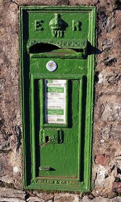 Irish Mailbox, they are beautiful Antique Mailbox, Old Mailbox, Images Of Ireland, Old Irish, Irish Eyes Are Smiling, Erin Go Bragh, You've Got Mail, Irish American, Irish Blessing