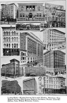 Louisville, Ky., top hotels in 1915