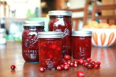 Pickled Cranberries for Ball's 25 Days of Making and Giving
