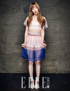 EXID Hani - Elle Magazine May Issue '15