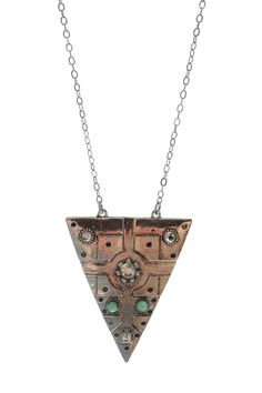Triangle Tribal Necklace