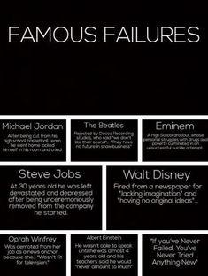 Growth Mindset - Famous Failures