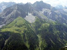 Ruitelspitze  richting Saxerspitze & Freispitze