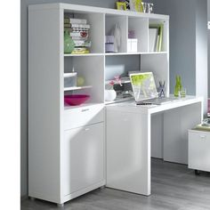 Home office for teens. Easily transformed into adulthood, just change up the colour pallet and accessories