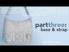 (1639) Wildflower Shoulder Bag CAL -  Part 3 of 3 - YouTube