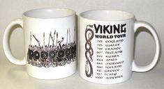 3d709d77b9ca0a Viking World Tour Coffee Mug Love it! Need it! Vikings, Coffee Mugs,