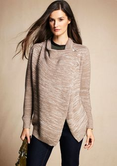 RXB Open Front Cocoon Sweater @Amy Perkins Mahoney - i want this- want it real bad