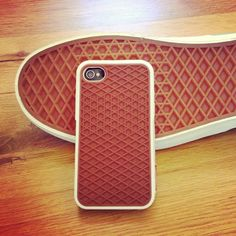 The classic waffle gum sole, now for your iPhone too. #vans #iphone #urbanoutfitters
