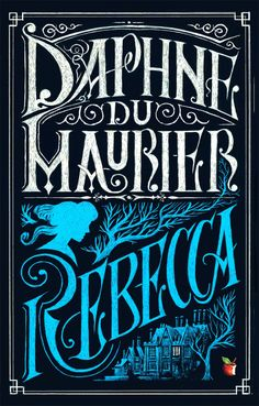 Really good book. 'Rebecca' by Daphne Du Maurier. Cover Design- Iacopo Bruno.