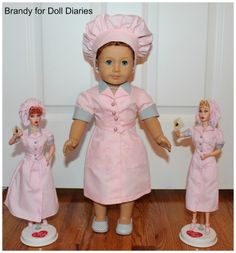 """I Love Lucy"" ~ The Chocolate Factory Doll"