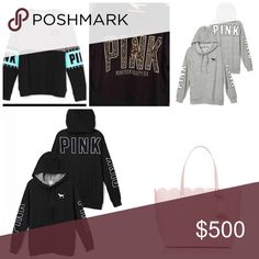 IN SEARCH OF!!! ISO!!! Looking for these items the colorblock crew in medium. The game day hoodies in xs or s. The cheetah hoodie in xs or s. Medium side Lace Up The Kate spade bag or one in a similar style same color. Willing to buy for reasonable price. I will also trade for these items only. Please don't ask me to trade unless you have these items. Thank you. PINK Victoria's Secret Tops Sweatshirts & Hoodies