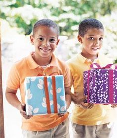 Find 24 creative ideas to make your wrapping as special as the gift itself.