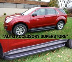 Chevy Equinox Running Boards. Our Running Boards looks totally awesome; while adding true styling and easy step access. A truly must have item!