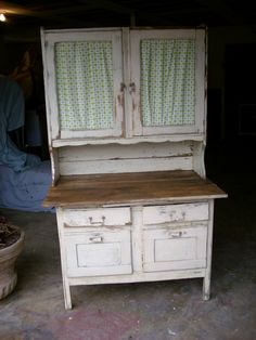 Vintage Kitchen cupboard