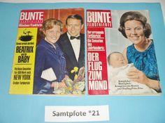2x Bunte Illustrierte Heft Nr.3/17 /1967/69 Beatrix Prinz Friso 68/124 Seiten | eBay