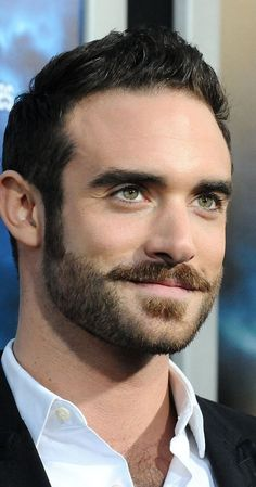 Article from Popsugar UK Lori Rosanova saved to Just Joshua 21 Times Joshua Sasse Mesmerised Us With His Gorgeous Eyes Beautiful Men Faces, Gorgeous Eyes, Most Beautiful Man, Joshua Sasse, Hairy Men, Bearded Men, Moustaches, Handsome Faces, Handsome Man